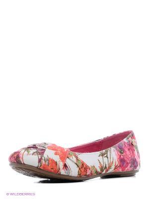 Балетки XTI. Цвет: коралловый, розовый