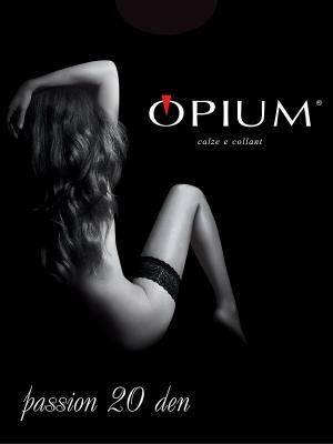 Чулки OPIUM. Цвет: черный