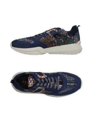 Низкие кеды и кроссовки SERAFINI LUXURY. Цвет: синий