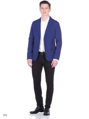 Пиджак Trussardi. Цвет: голубой