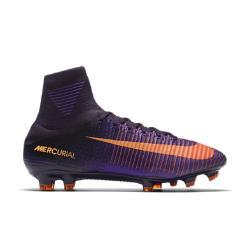 Футбольные бутсы для игры на твердом грунте  Mercurial Superfly V Nike. Цвет: пурпурный