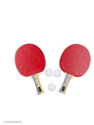 Набор для настольного тенниса Start Up. Цвет: красный
