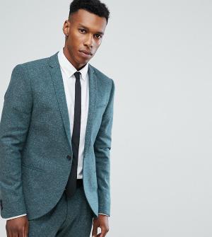 Noak Облегающий пиджак. Цвет: зеленый