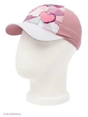 Бейсболка Maxval. Цвет: розовый, белый