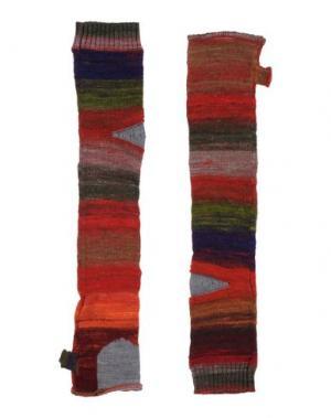 Гетры для рук LE JEAN DE MARITHÉ + FRANÇOIS GIRBAUD. Цвет: кирпично-красный