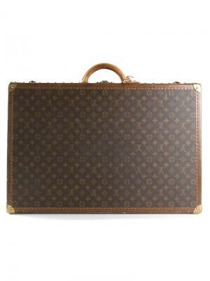 Чемодан Alzer 70 с монограммным принтом Louis Vuitton Vintage. Цвет: коричневый