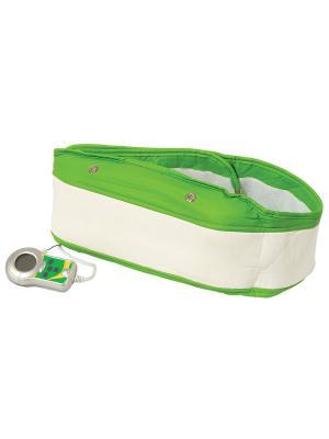 Массажный пояс MP Fitnes Pro Belt Massage Paradise. Цвет: белый, зеленый