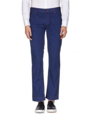 Повседневные брюки JOE RIVETTO. Цвет: синий