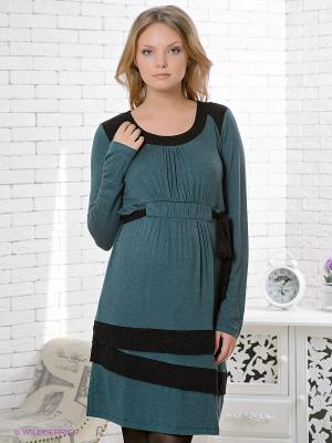 Платье Gemko. Цвет: зеленый