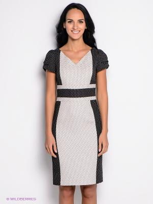 Платье KEY FASHION. Цвет: черный