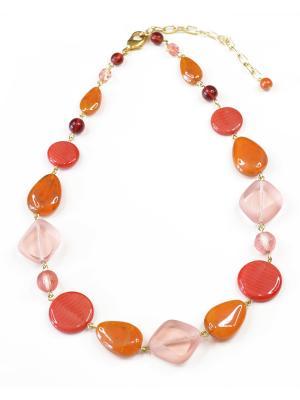 Ожерелье Bohemia Style. Цвет: терракотовый