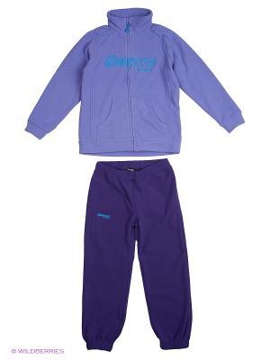 Спортивный костюм Bergans. Цвет: сиреневый