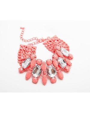 Браслет Kameo-bis. Цвет: розовый, белый