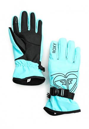 Перчатки Roxy. Цвет: мятный