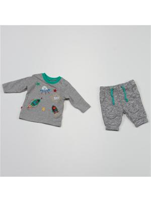 Комплект одежды BABALUNO. Цвет: серый, темно-серый