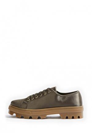 Ботинки Topshop. Цвет: хаки