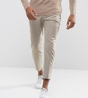 Noak Фланелевые брюки суженного книзу кроя. Цвет: светло-бежевый