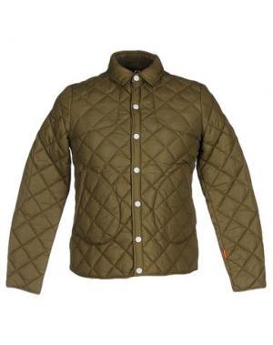 Куртка KILT HERITAGE. Цвет: зеленый-милитари