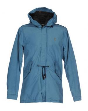 Куртка DESIGUAL. Цвет: грифельно-синий
