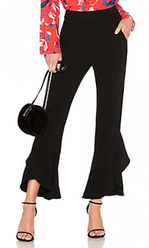 Расклешенные брюки monique Tanya Taylor. Цвет: черный