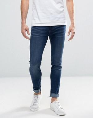 Waven Синие джинсы. Цвет: синий
