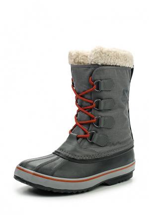 Ботинки Sorel. Цвет: серый