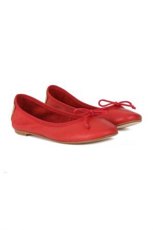 Балетки Versilia. Цвет: красный