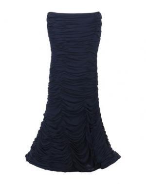 Платье длиной 3/4 CAILAN'D. Цвет: темно-синий