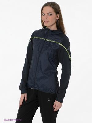Ветровка STR R.RUN JKT W Adidas. Цвет: темно-синий