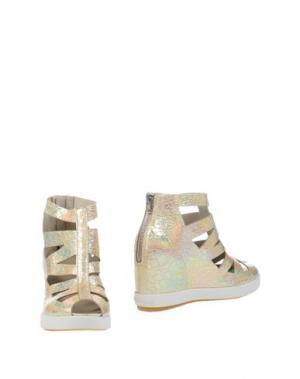 Полусапоги и высокие ботинки RUCO LINE. Цвет: платиновый