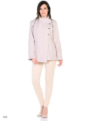 Куртка IISA Maritta. Цвет: бежевый