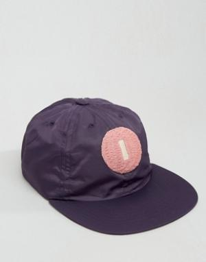 Maharishi Baseball Cap In Purple. Цвет: фиолетовый