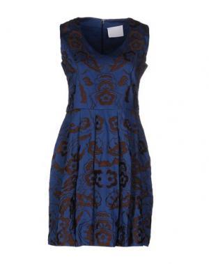 Короткое платье PRINCESSE METROPOLITAINE. Цвет: синий