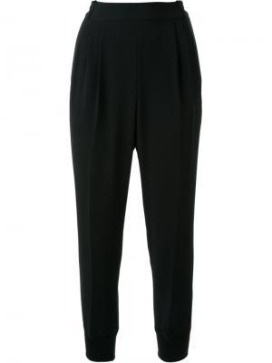 Tapered trousers Muveil. Цвет: чёрный