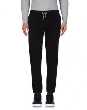 Повседневные брюки DANIELE ALESSANDRINI HOMME. Цвет: черный