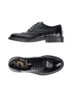 Обувь на шнурках MANILA GRACE. Цвет: черный