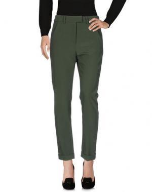 Повседневные брюки ANGELA MELE MILANO. Цвет: зеленый