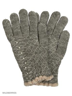 Перчатки Punta. Цвет: серый