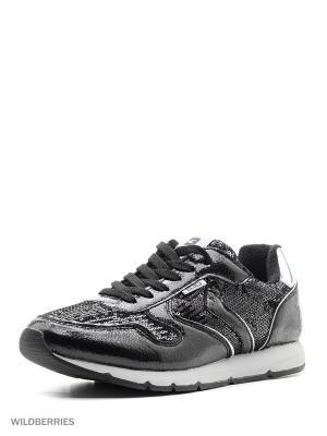 Кроссовки BASS3D. Цвет: черный, серебристый