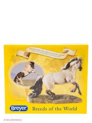 Лошадь дикая мустанг Breyer. Цвет: коричневый, бежевый