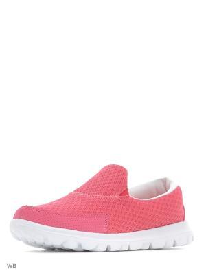 Кроссовки Ascot. Цвет: розовый, белый