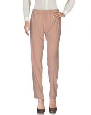 Повседневные брюки APPARTAMENTO 50. Цвет: телесный
