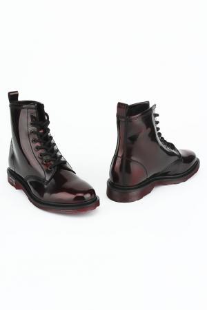 Ботинки CULT. Цвет: красный