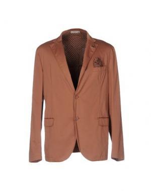 Пиджак MANUEL RITZ WHITE. Цвет: телесный