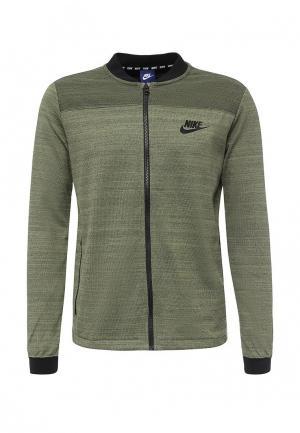 Олимпийка Nike. Цвет: зеленый