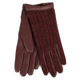Перчатки  KEIKO/AGN/W бордовый AGNELLE