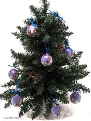 Набор шаров Mister Christmas. Цвет: сиреневый, красный, белый