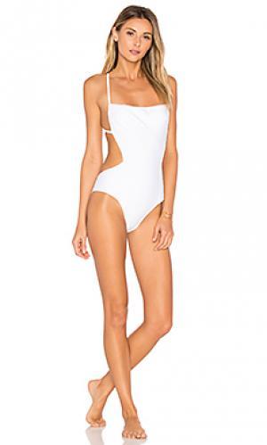 Слитный купальник skim CHROMAT. Цвет: белый