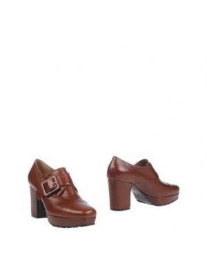 Ботинки NAIF. Цвет: коричневый