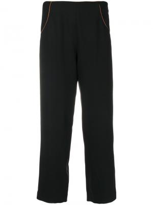 Edwige cropped trousers Vanessa Seward. Цвет: чёрный